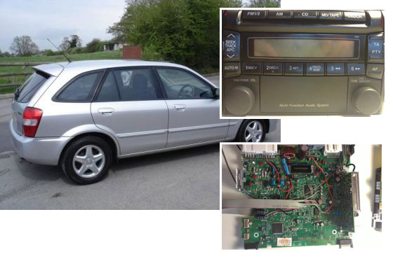 Reparacion radio Mazda con Arduino