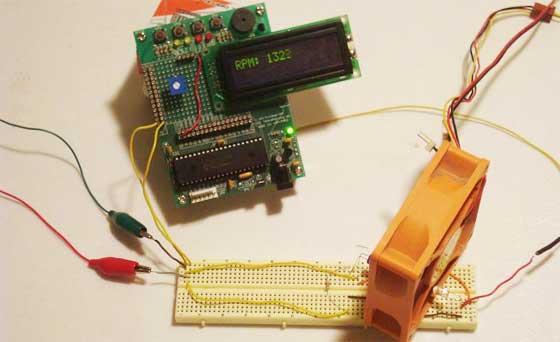 Cómo hacer un tacómetro digital casero