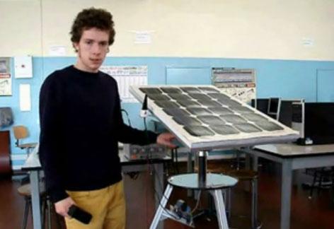 Seguidor de luz automático para panel solar