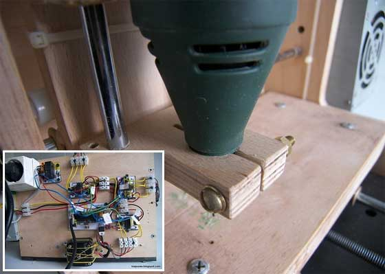 Planos de pequeña CNC casera