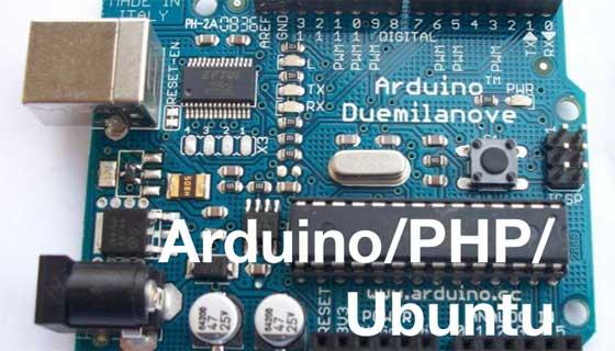 Como controlar Arduino desde PHP con Ubuntu