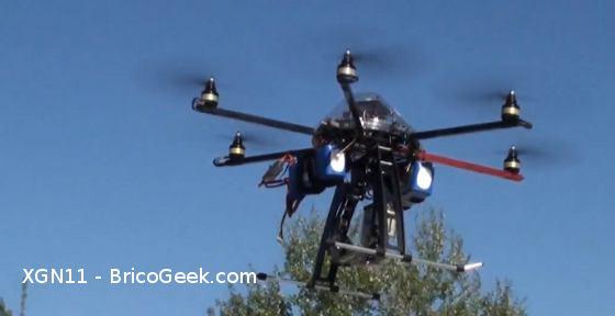 XGN11 - Exhibición Hexacopter BricoGeek.com