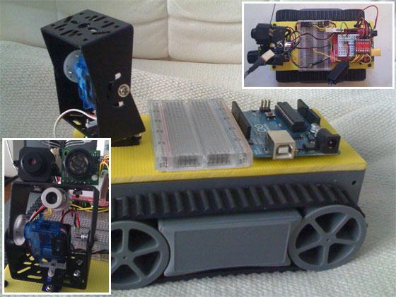Robot Oruga con Arduino
