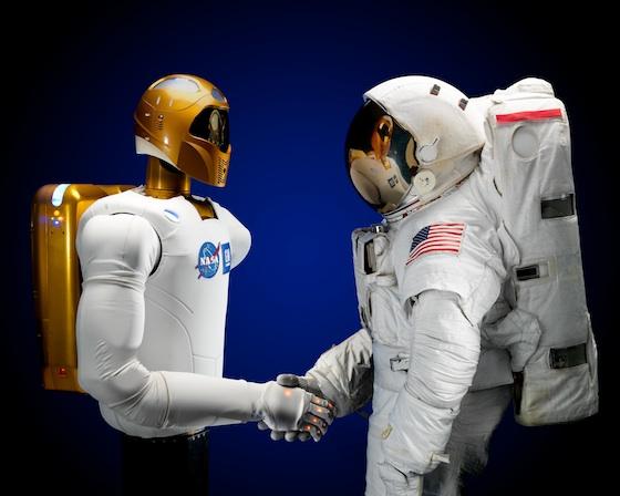 Robots en el espacio