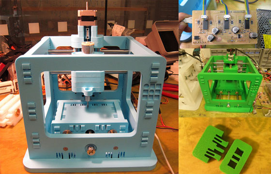 MTM Snap: Pequeña CNC con Arduino