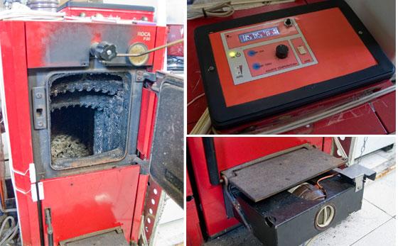 Control electrónico de caldera de leña con Arduino