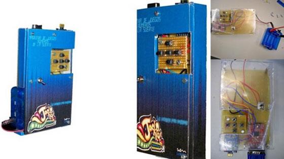 Máquina de juegos casera con uVGA-PICASO