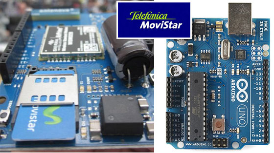 Movistar presentará una Shield GSM para Arduino en la Campus Party