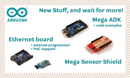 Arduino MEGA ADK y Arduino Ethernet PoE