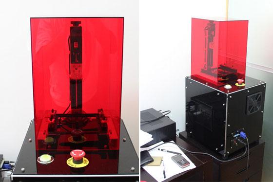 Impresionante impresora 3D casera de alta resolución