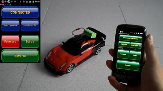 Coche RC controlado con Arduino y Android