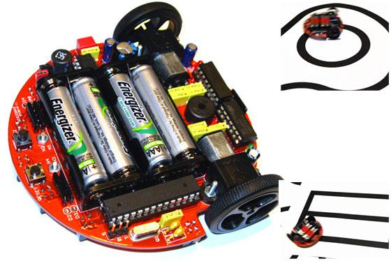 n00b0t: Robot siguelíneas para experimentación