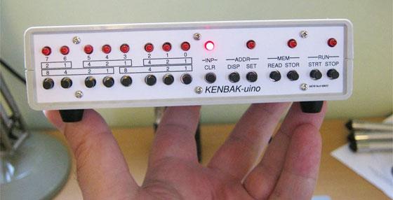 KENBAK-uino: Una réplica del Kenbak-1 con Arduino
