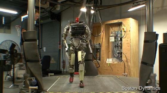 PETMAN: Robot antropomórfico de Boston Dynamics