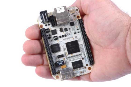 BeagleBone: ARM A8 con Linux por 89 dólares