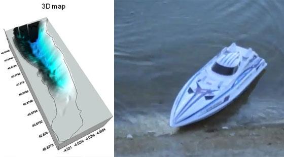 Roboat 2011 - Barco de radiocontrol guiado por GPS