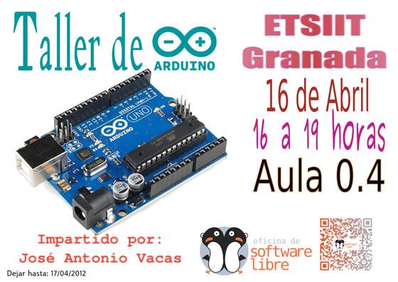 Taller de Arduino en la ETSIIT de Granada