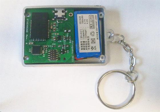 Buscador de llaves con Bluetooth