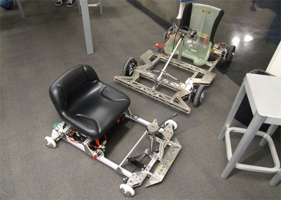 ChibiKart: Un Gokart eléctrico casero del MIT