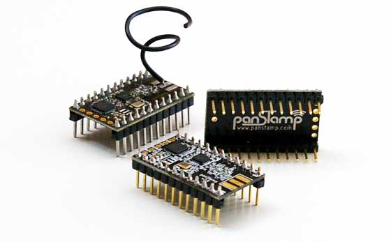 PanStamp: Miniaturas inalámbricas programables desde Arduino