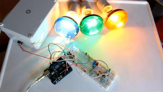 Órgano de luces psicodélicas casero con Arduino