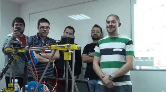 Castelao Barcamp 2012 - Conferencia sobre impresoras 3D
