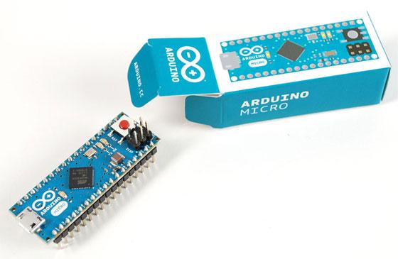 Nuevo Arduino Micro con USB nativo