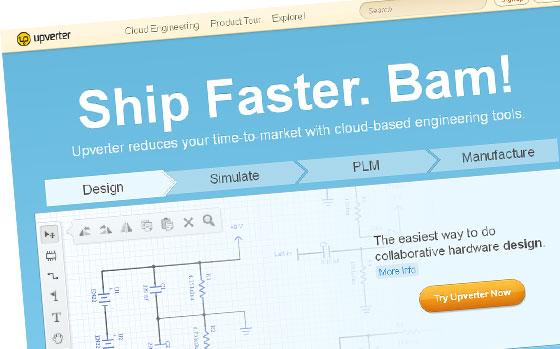 Upverter: Diseño y producción electrónica en Cloud