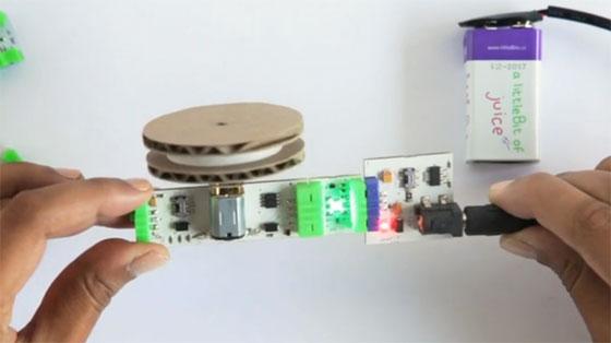 Aprende electrónica digital básica con LittleBits