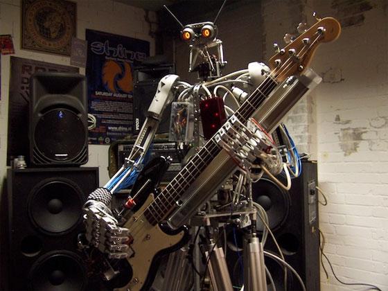 Compressorhead: La banda de Metal hecha con robots