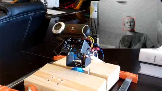 Tutorial de Face Tracking con Arduino y OpenCV