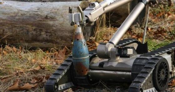 Robots en pie de guerra