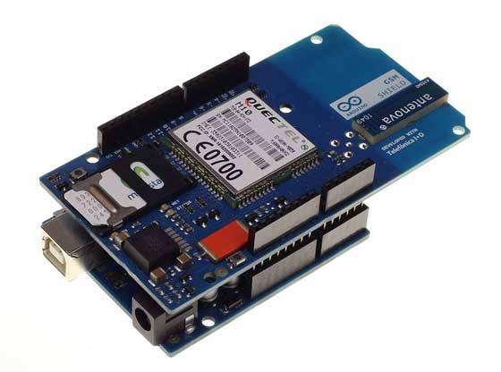 Arduino presenta su nueva GSM shield
