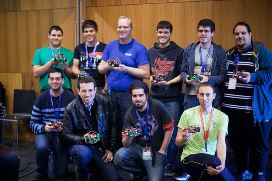 Resumen del taller de robótica con Arduino - XGN14