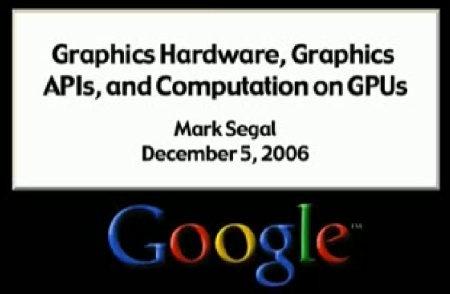 (Video) Presentación de Google sobre DX10 y GPU