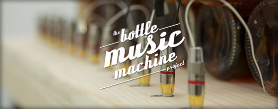 The Bottle Music Machine
