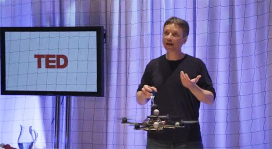TED: El poder de los quadcopters