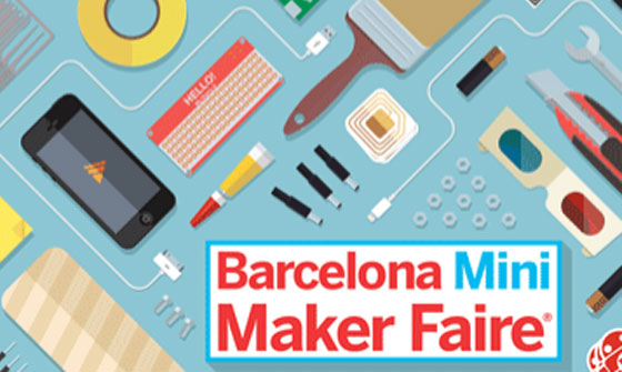 Mini Maker Faire en Barcelona