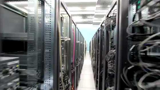 Visita al centro de computación del CERN