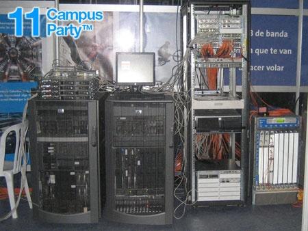 Campus Party 2007: Conectados a 5Gbps durante una semana