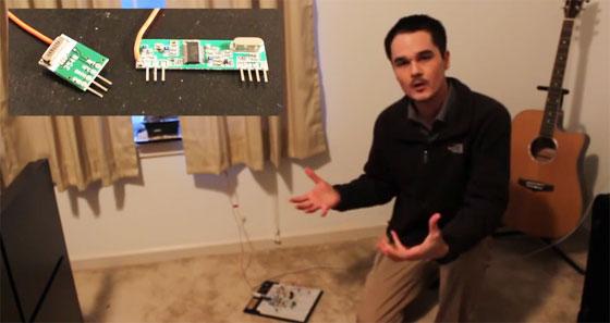 Enlace inalámbrico barato para Arduino