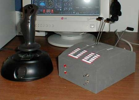 (DIY) Palanca dual casera para Flight Simulator