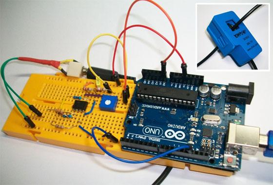 Turorial: Control de consumo eléctrico con Arduino