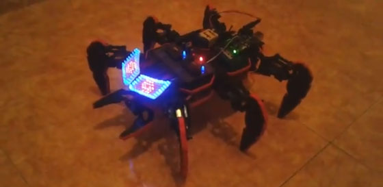 HexDrake: Otro robot hexápodo con Arduino