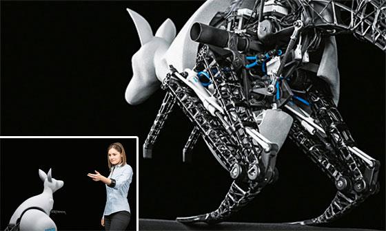 BionicKangaroo: El Robot canguro desarrollado por Festo