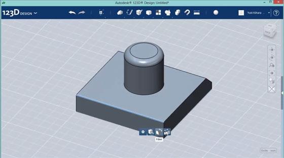 Cómo crear piezas en 3D con 123D Design