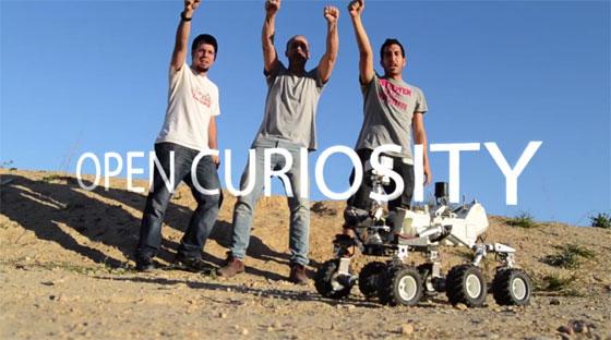 OpenCuriosity: El primer Rover Opensource