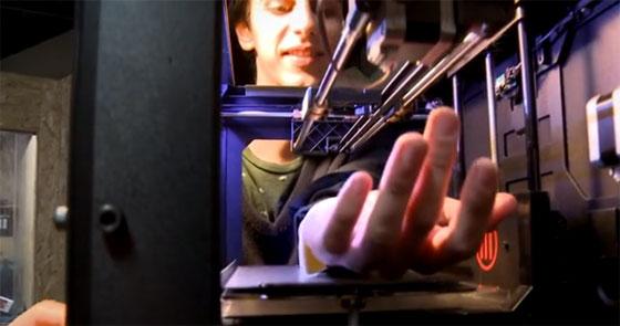 Impresora 3D para realizar tatuajes