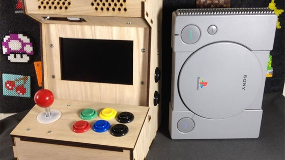 Mini arcade con raspberry pi for Como hacer una maquina recreativa