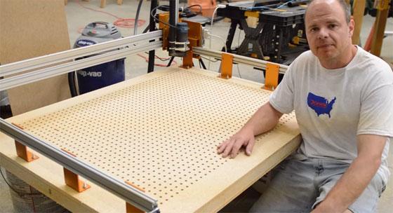 Cómo hacer una mesa de vacío para CNC